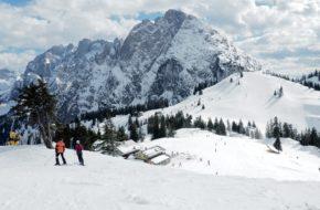 Gosau Na śnieżnych trasach Dachstein West