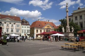 Győr Barokowe miasto czterech rzek