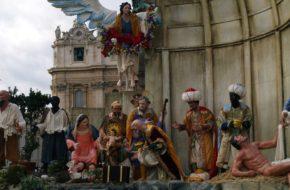 Watykan Szopka na Placu św. Piotra