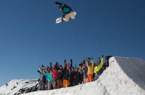 Ischgl Ćwierć wieku na snowboardzie