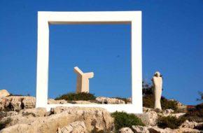 Agia Napa Park Rzeźb wśród skał i krzewów