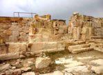Kurion. Antyczne ruiny z widokiem na morze