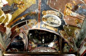 Kakopetria Bizantyjskie skarby gór Troodos