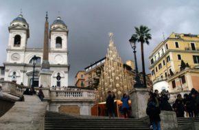 Rzym Wieczne Miasto w świątecznym stroju