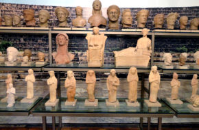 Larnaka Antyczne skarby w Muzeum Pieridesa