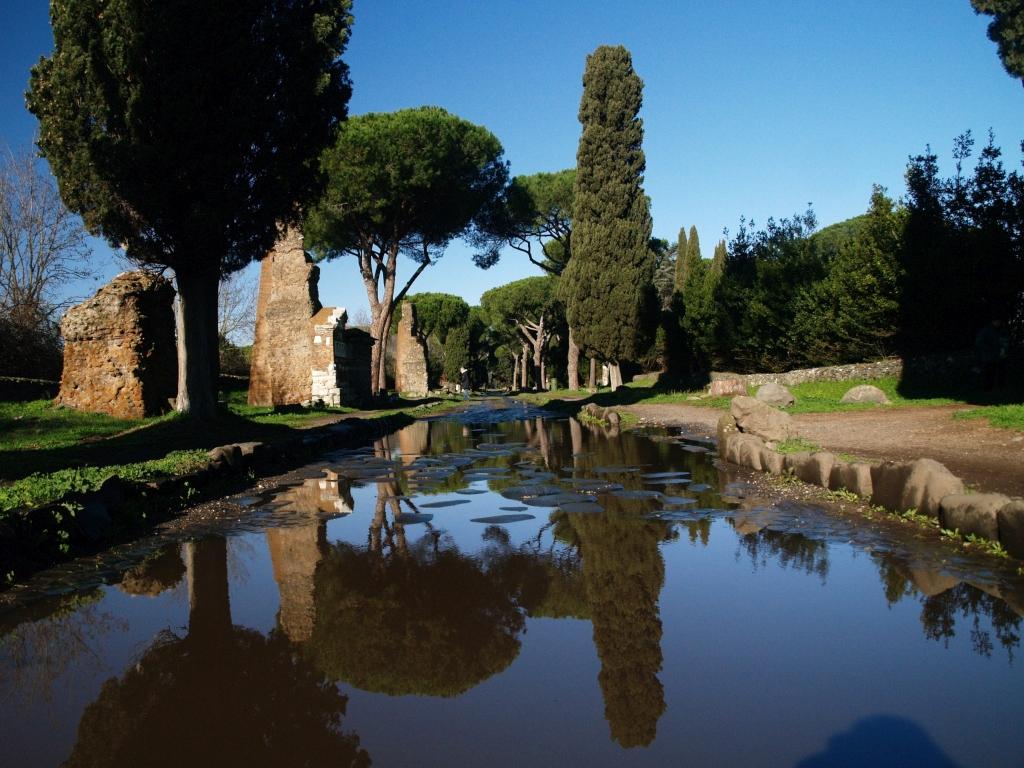 Rzym. Via Appia Antica, królowa rzymskich dróg