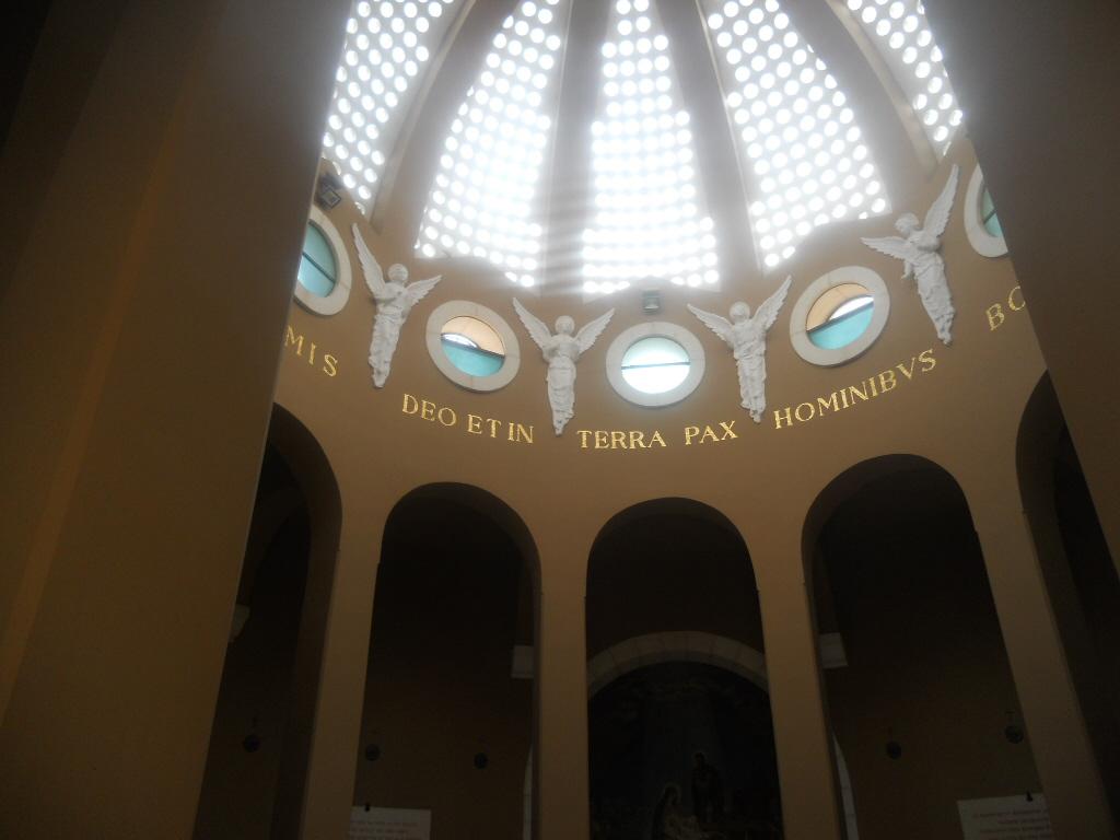 Beit Sahur. Pole Pasterzy i kościół Gloria in Excelsis