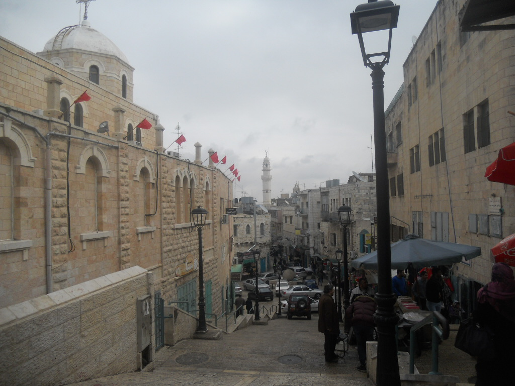 Betlejem. Miasto, w którym urodził się Jezus