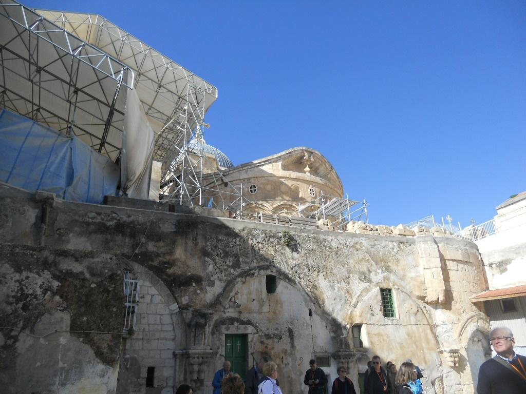 Jerozolima. Bazylika Grobu Pańskiego