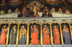 Górzanka Inny ikonostas i jaja dla strażaków