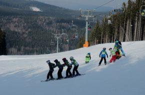 Karlov pod Pradědem Dla adeptów sztuki narciarskiej