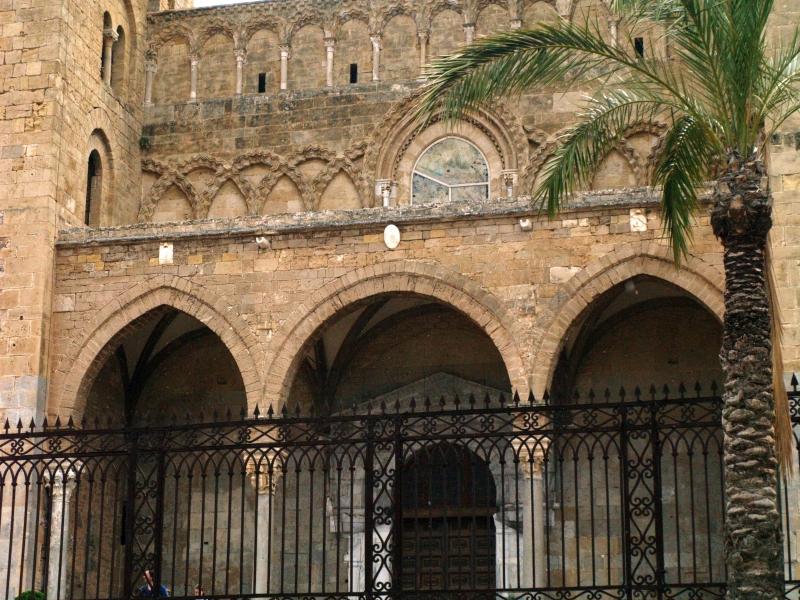 Cefalù. Katedra arabsko-normańska