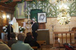 Nowosiółki Kościół wyrosły z kukurydzy