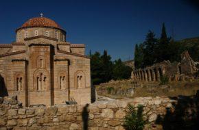 Ateny Dafni – monastyr przy Świętej Drodze