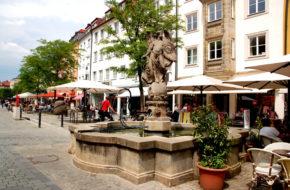 Bayreuth Tu Richard Wagner wystawiał opery