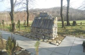 Iwonicz Cmentarz choleryczny na skraju wsi