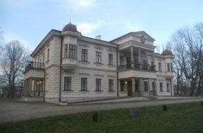 Iwonicz Zimowy pałac Załuskich