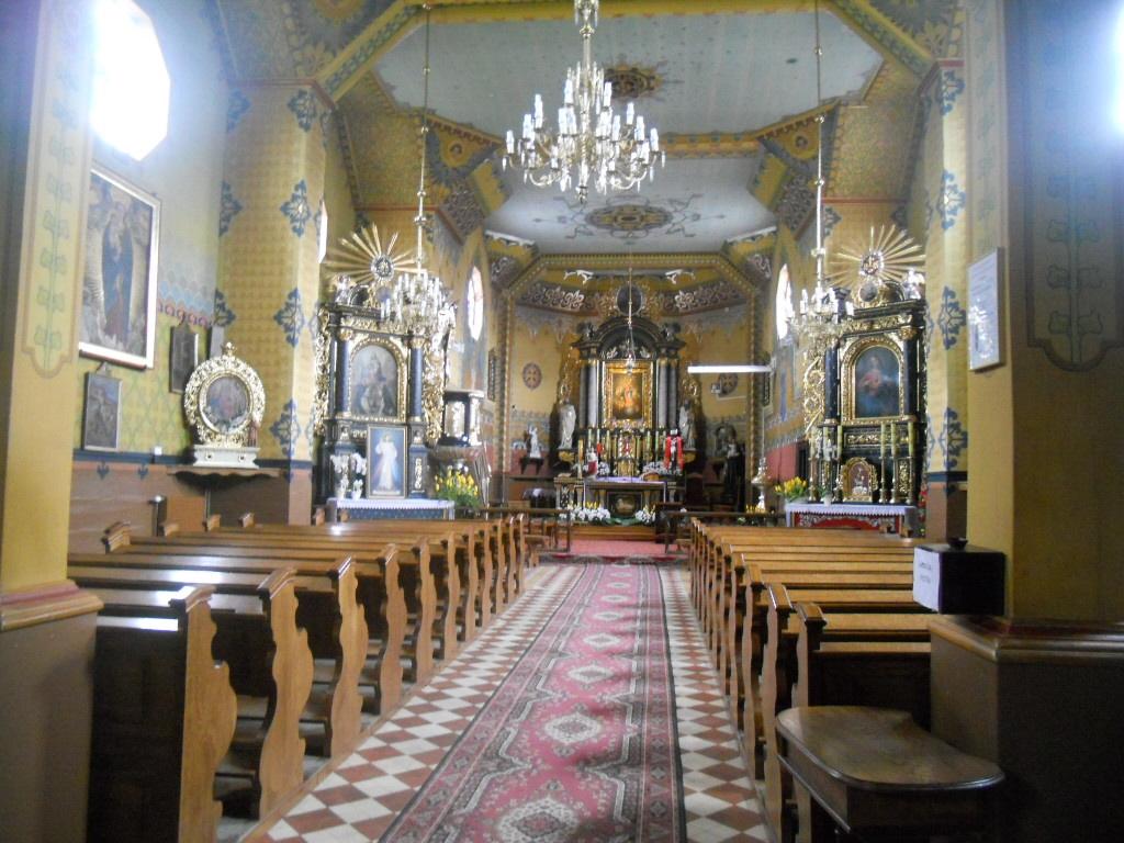 Klimkówka. Zwykły kościół z niezwykłym wnętrzem