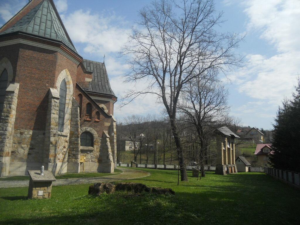 Lubatowa. Kościół o ciekawej architekturze