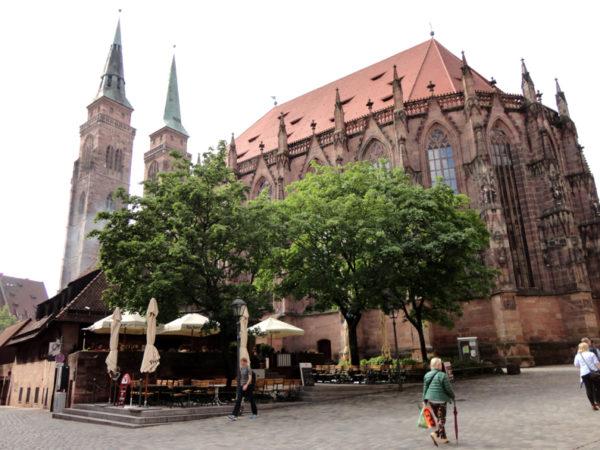Norymberga. Fara, czyli kościół św. Sebalda