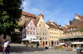 Norymberga Trzy zamki Starego Miasta