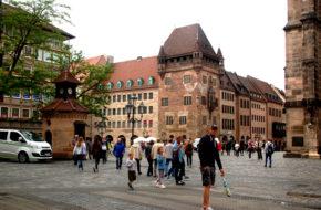 Norymberga Dawne i współczesne Stare Miasto
