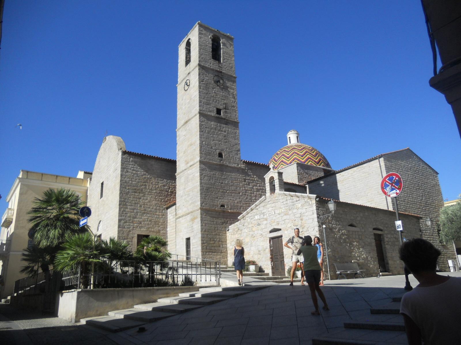 Olbia. Bazylika San Simplicio