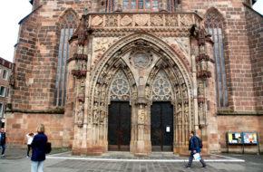 Norymberga Kościół na fundamentach synagogi