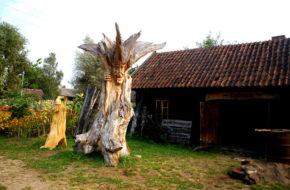 Kuligów Skansen wyrosły z kolekcji pasjonata