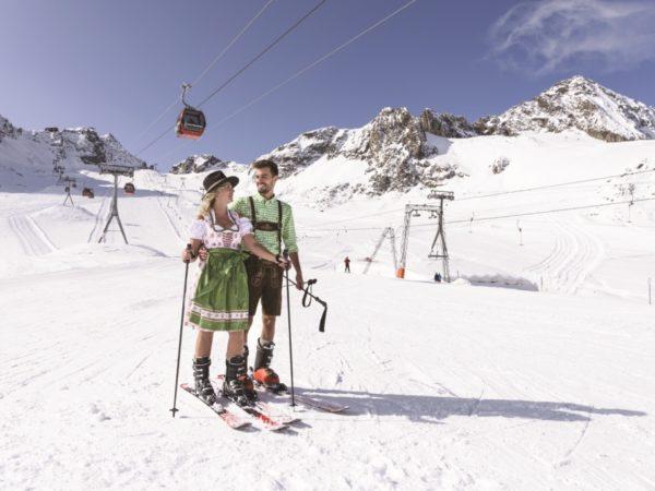 Stubai. Zimowe sporty i zabawa w dolinie