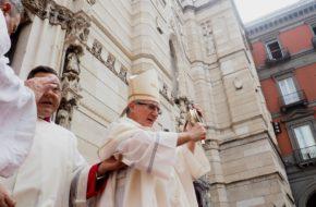 Neapol I stał się cud krwi św. Januarego