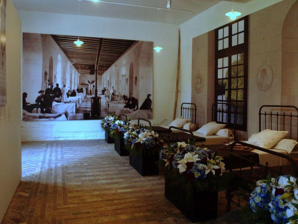 Chenonceaux. Szpital wojenny w Zamku Dam