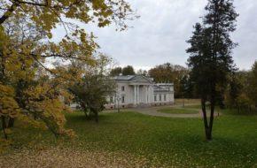 Marchwacz Pałac na wielkopolskiej wsi