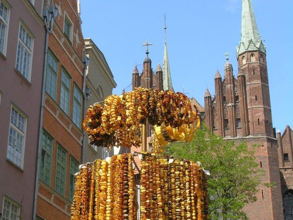 Gdańsk. Klimatyczna ulica Mariacka
