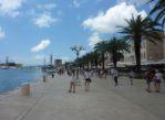 Trogir. Port pełen wiekowych zabytków