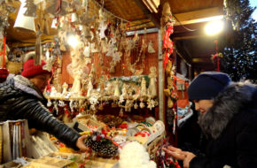 Ołomuniec Adwentowy jarmark na dwu rynkach