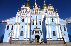 Kijów Główna świątynia cerkwi ukraińskiej