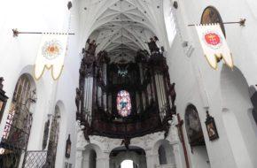 Gdańsk Oliwska katedra i organy doskonałe