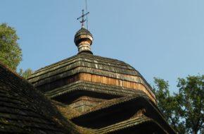 Ulucz Samotna cerkiewka na leśnej polanie