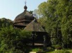 Ulucz. Samotna cerkiewka na leśnej polanie