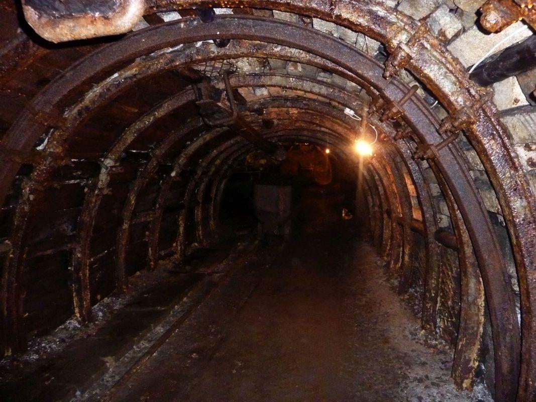 Nowa Ruda. W podziemiach kopalni węgla