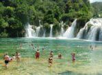 Krka. Pełen wodospadów park narodowy