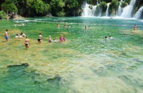 Krka Pełen wodospadów park narodowy