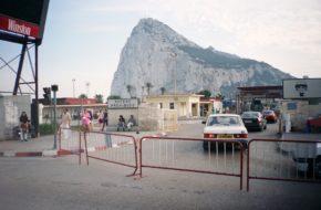 Gibraltar Zamorskie Terytorium Brytanii