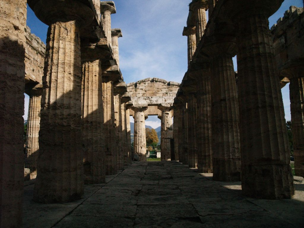 Paestum. Doryckie świątynie Posejdonii