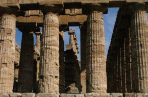 Paestum Doryckie świątynie Posejdonii