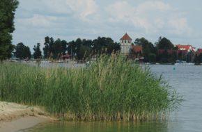 Rydzewo Przystań na szlaku Wielkich Jezior
