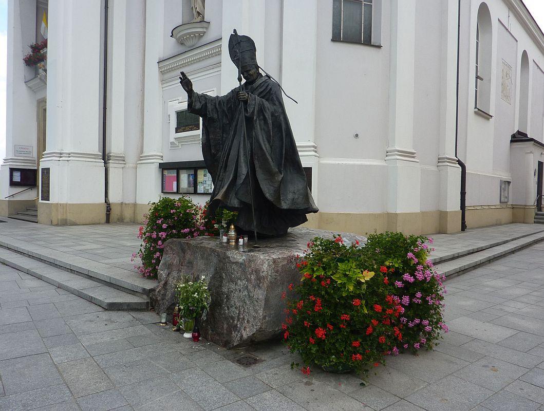 Wadowice. Papieskie pamiątki w całym mieście