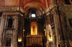 Lizbona Spalony kościół św. Dominika