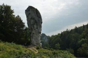 Ojców Zamki i jaskinie w parku narodowym